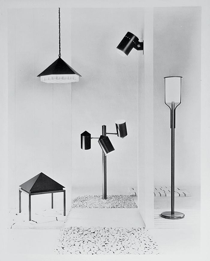 Nessen Lighting lamps by Lucia DeRespinis