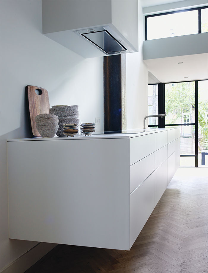 Amsterdam loft with floating Bulthaup kitchen