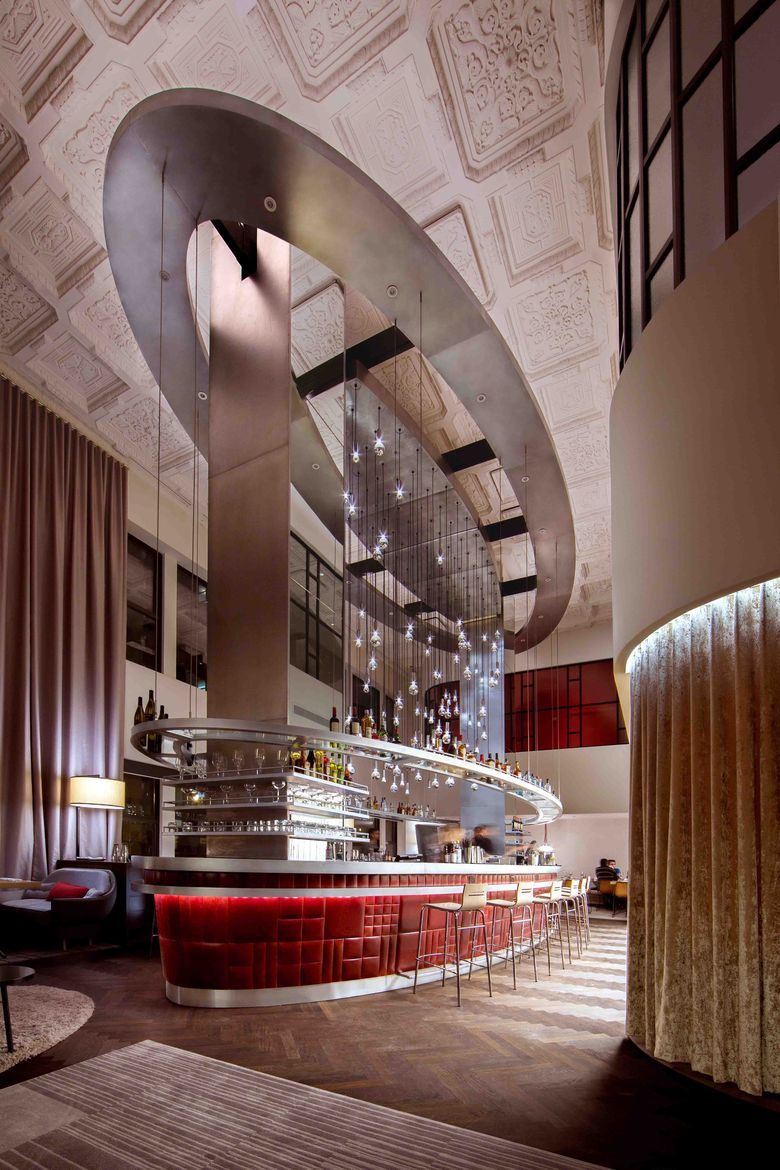 Virgin Hotel Chicago designed by Rockwell Group Europe Commons Club