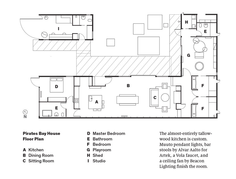 Pirates Bay House Floor Plan