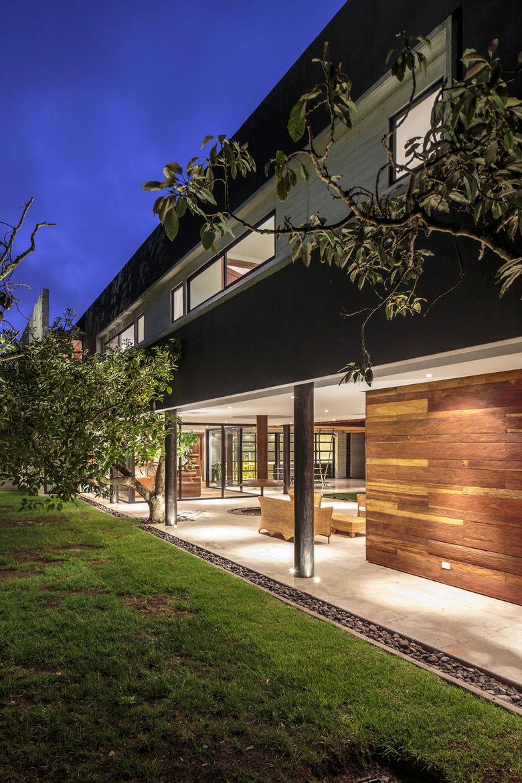 A modern family home in Ecuador
