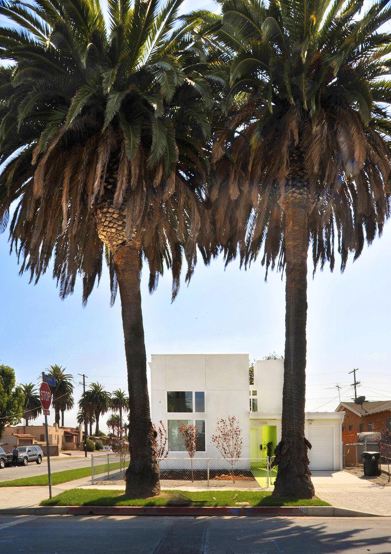 Lehrer Architects Affordable Housing Prototype Exterior