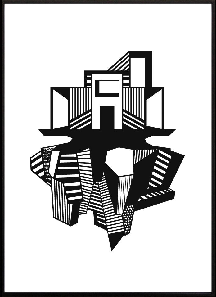 Kristina Dam Funkis House illustration