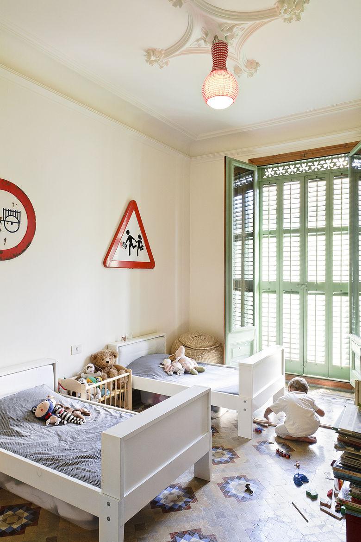 Barcelona Flat Kids' Bedroom