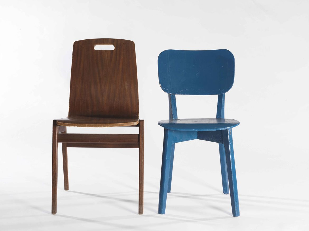 Danish-style chairs by Hazorea Factory in Israel