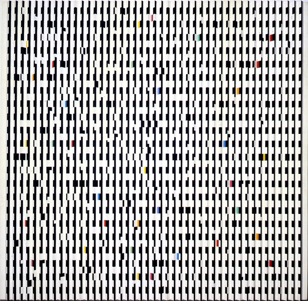 """""""Staccato"""" by Yaacov Agam"""