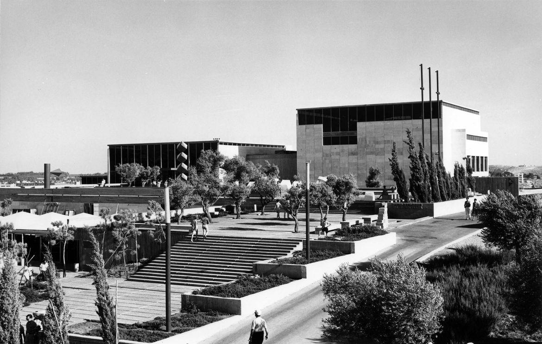 Israel Museum exterior in 1965