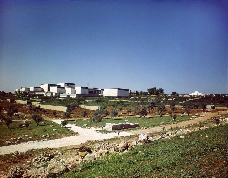 Israel Museum in Jerusalem in 1965