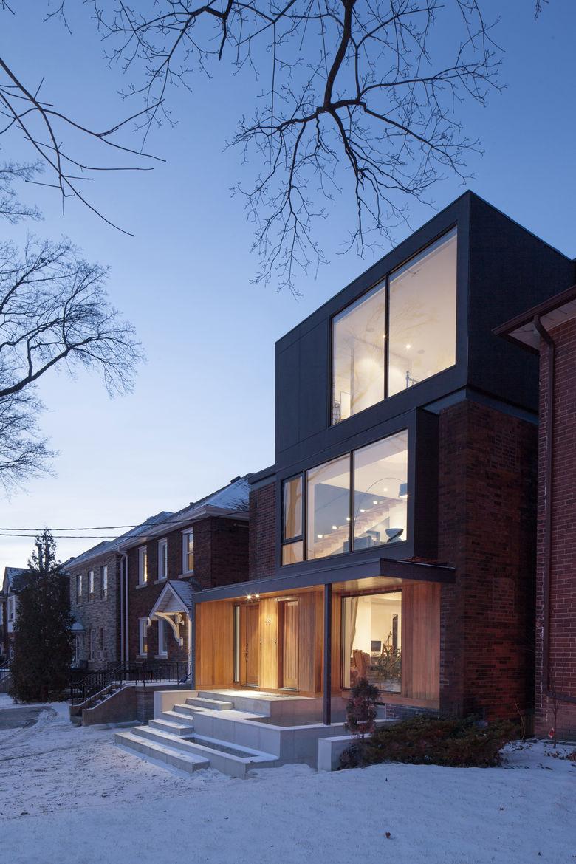 Midtown Triplex Renovation exterior, Toronto