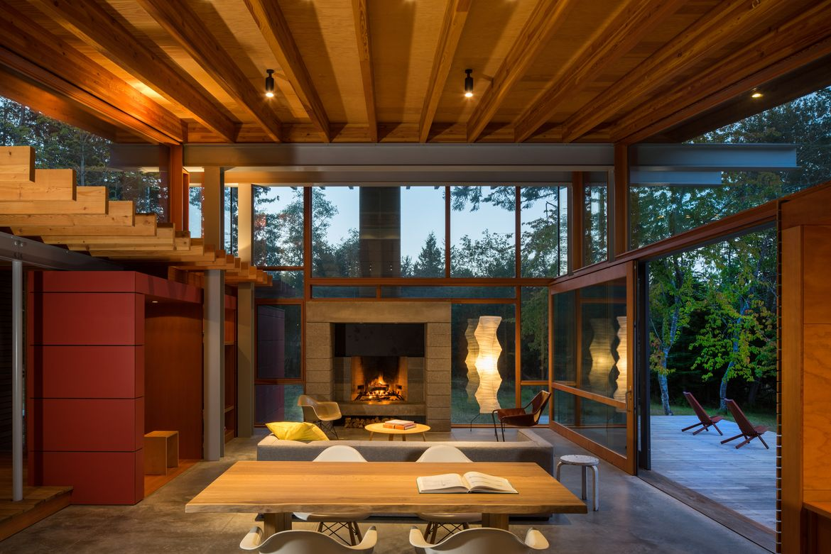 Off the grid Seattle Washington Henry Island Bohlin Cywinski Jackson