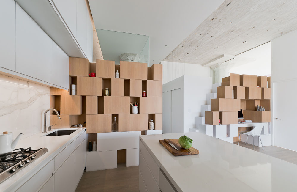 Cabinets and storage in a Brooklyn apartment
