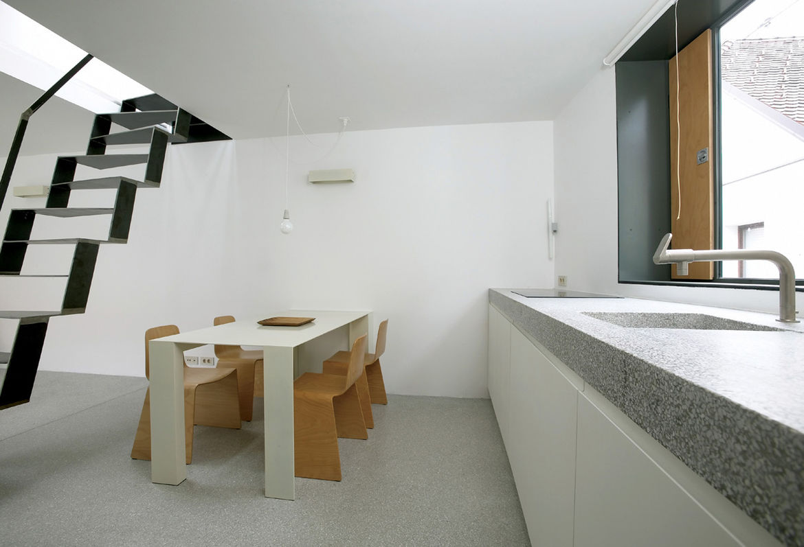 Ljubljana Micro House Custom Dining Table