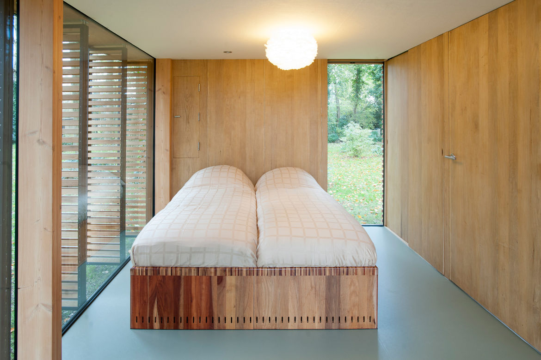 Bedroom in Handmade Cabin, The Netherlands