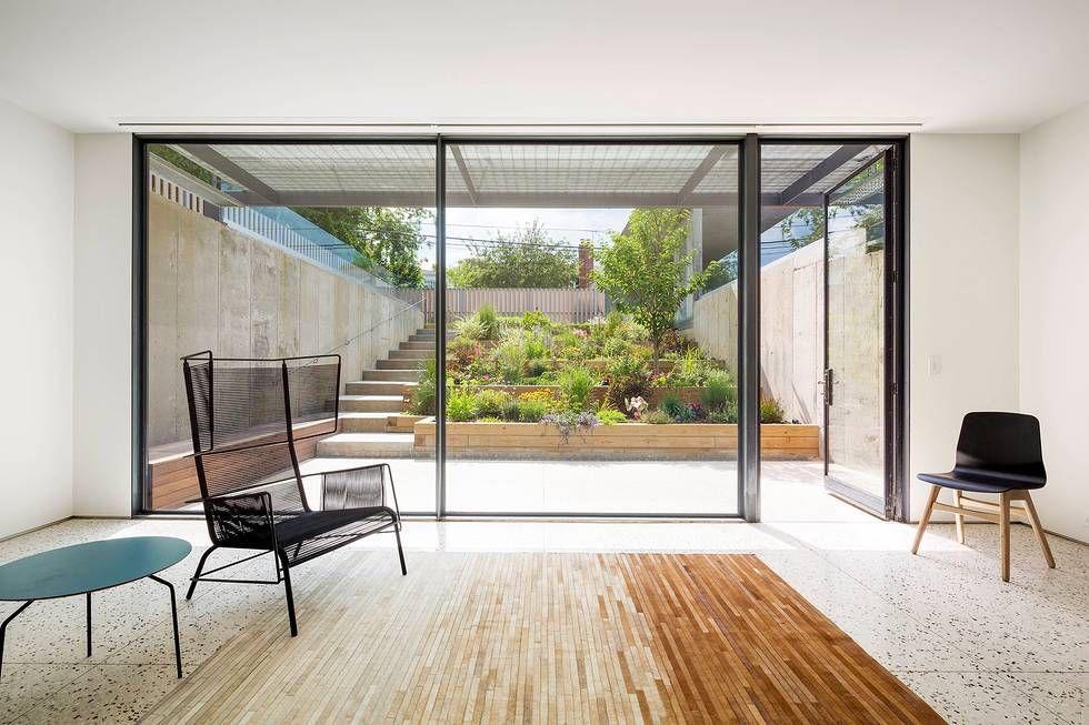 Choy House basement with garden access.