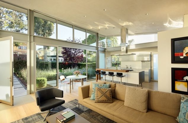 The Madans-Rymers Residence designed by Dean Nota in Manhattan Beach, California