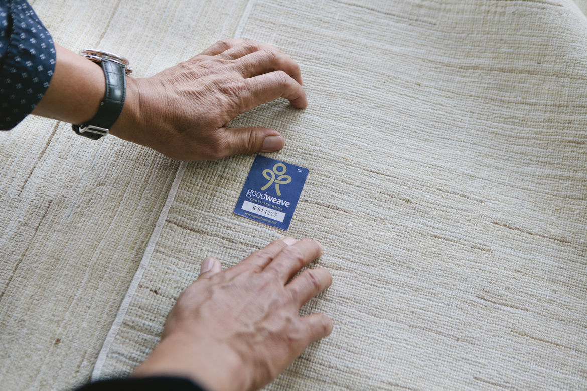 GoodWeave, an organization dedicated to ending child slavery in the rug industry