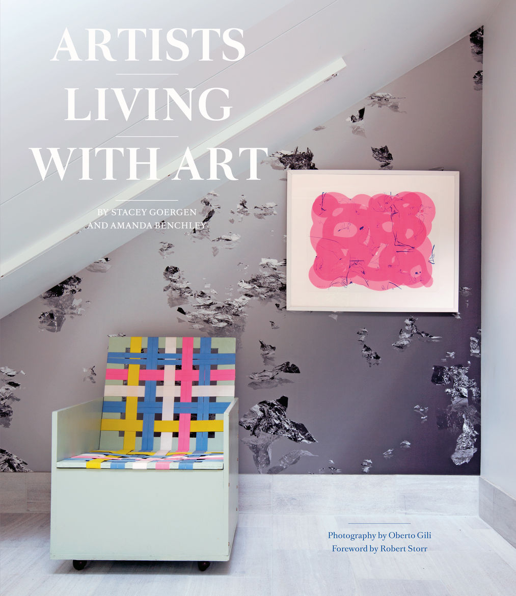 Cover of Artists Living With Art, published by Abrams Books.
