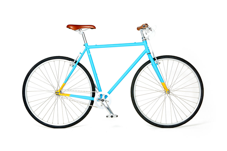 Brilliant Bicycles' Astor Bicycle in Laguna Blue