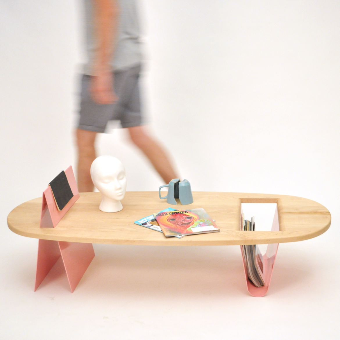 Peak and Valley coffee table by A__to__B Studio