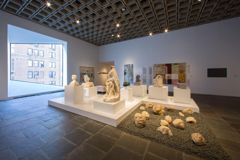 Installation view inside the new Met Breuer