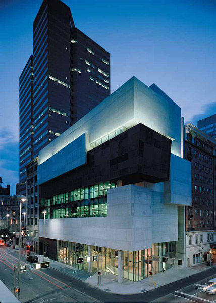 The Richard and Lois Rosenthal Center for Contemporary Art, Cincinnati, Ohio, 2003