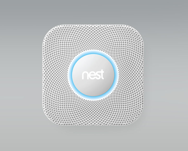 The Nest Protect: Smoke + CO Alarm, available through SAGE