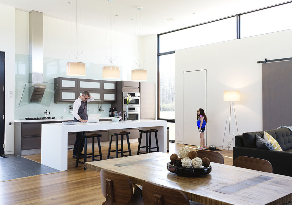 Jordan Goldstein's open kitchen in Virginia