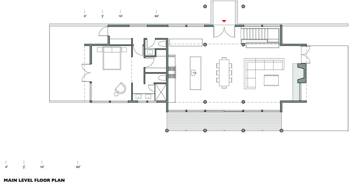 Vandervort 2270 main level floor plan