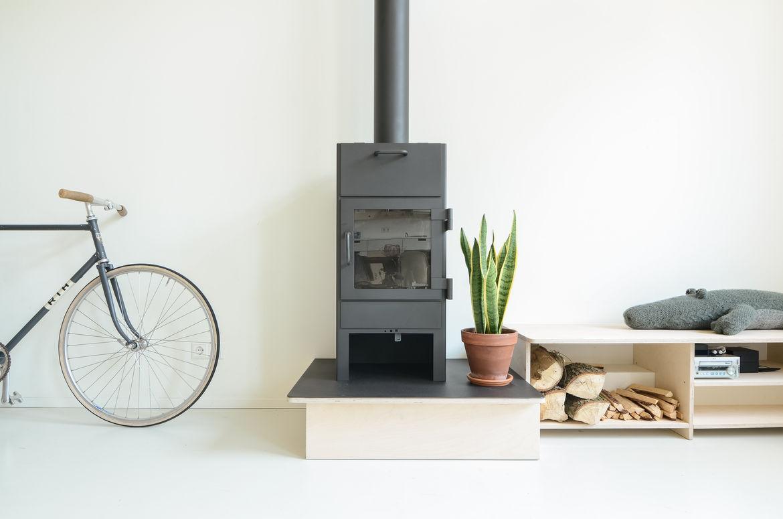 Onsdorp schoolhouse renovation stove