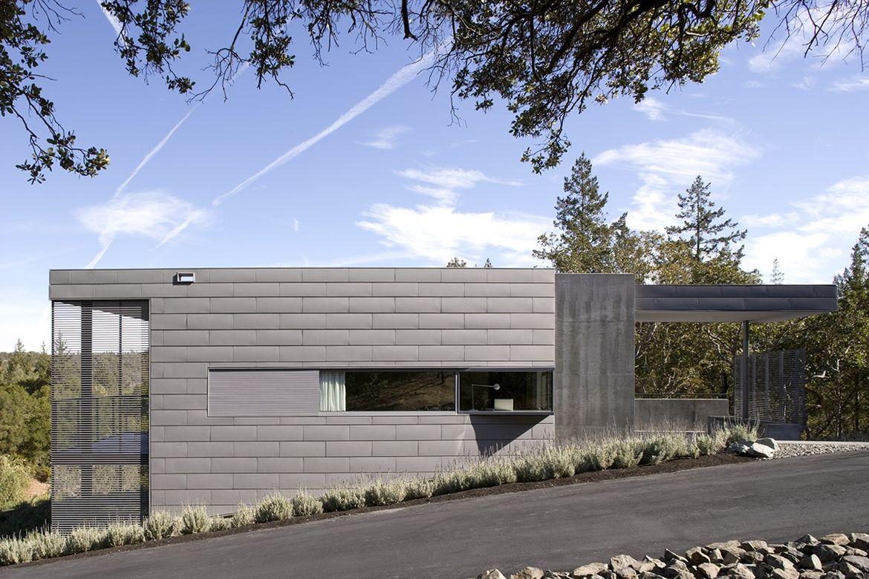 Olive Grove House hillside