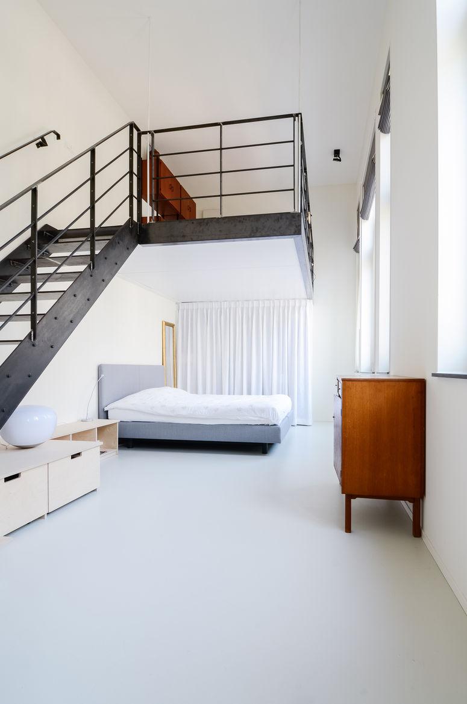 Onsdorp schoolhouse renovation master bedroom