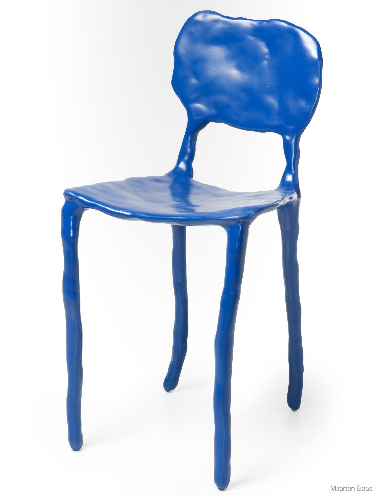 Child's Chair (2006) by Maarten Baas, estimated at $1,200–$1,800, up for bid on Paddle8 from Murray Moss' collection.