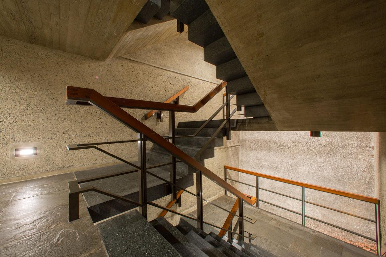 Staircase of Met Breuer, restored by Beyer Blinder Belle
