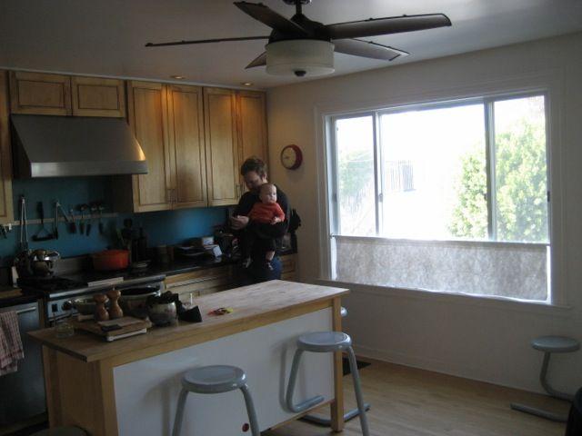 Florida Street kitchen before renovation