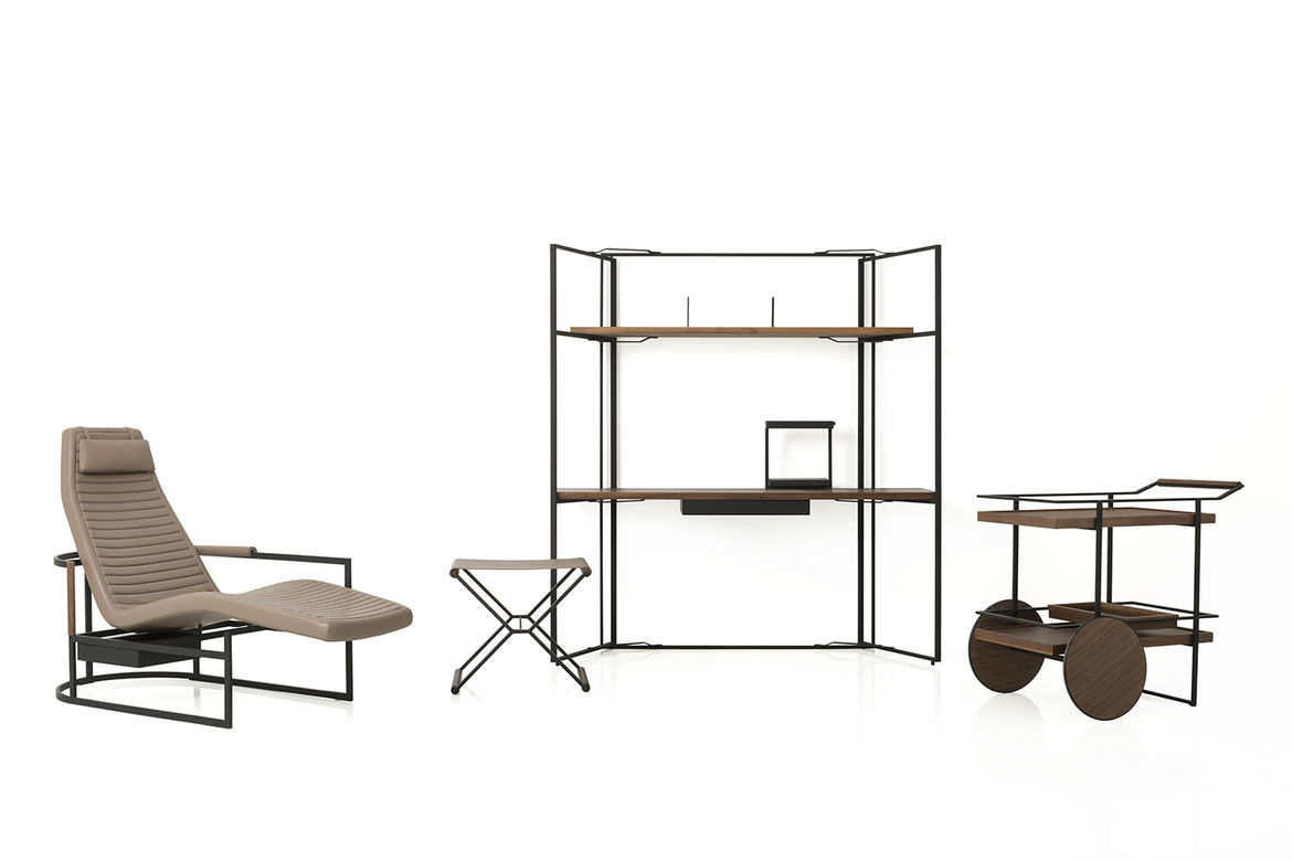 The James collection by Yabu Pushelberg and Stellar Works