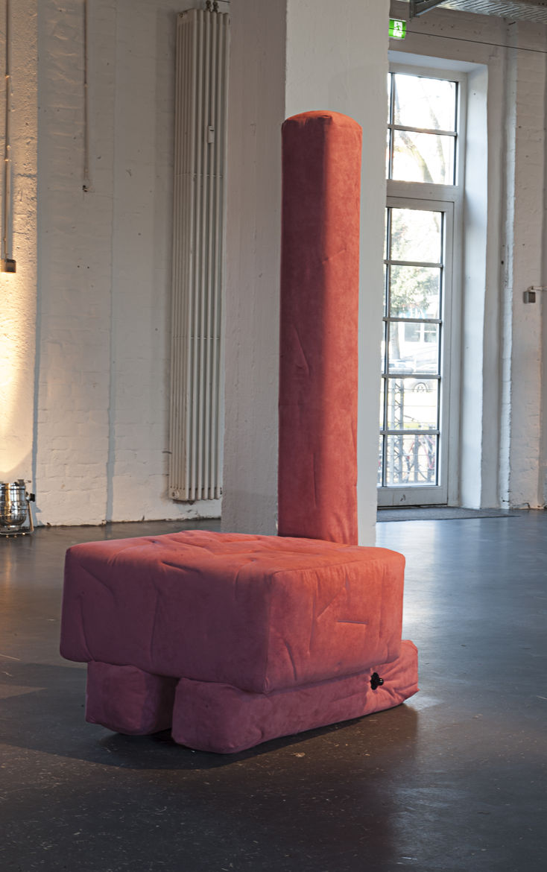 Anton Alvarez design in Alcantara for Milan Design Week