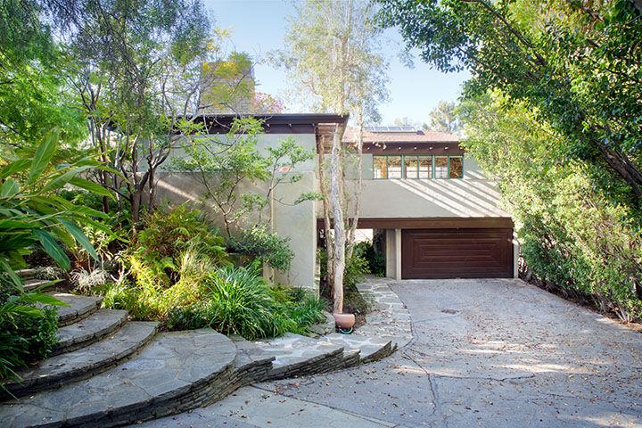 Lloyd Wright Home Brentwood