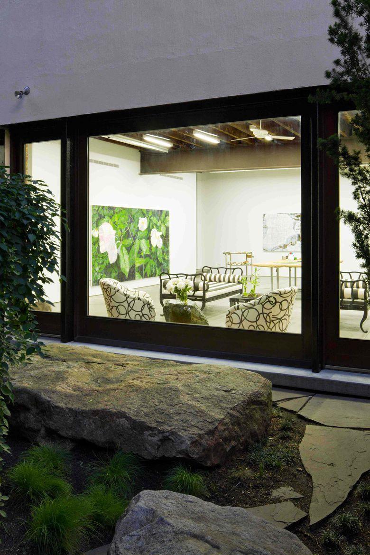 Brooklyn Artist Studio Exterior looking to the interior