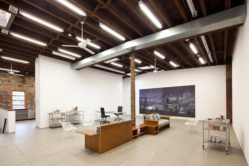 Brooklyn Artist Studio Upstairs Loft