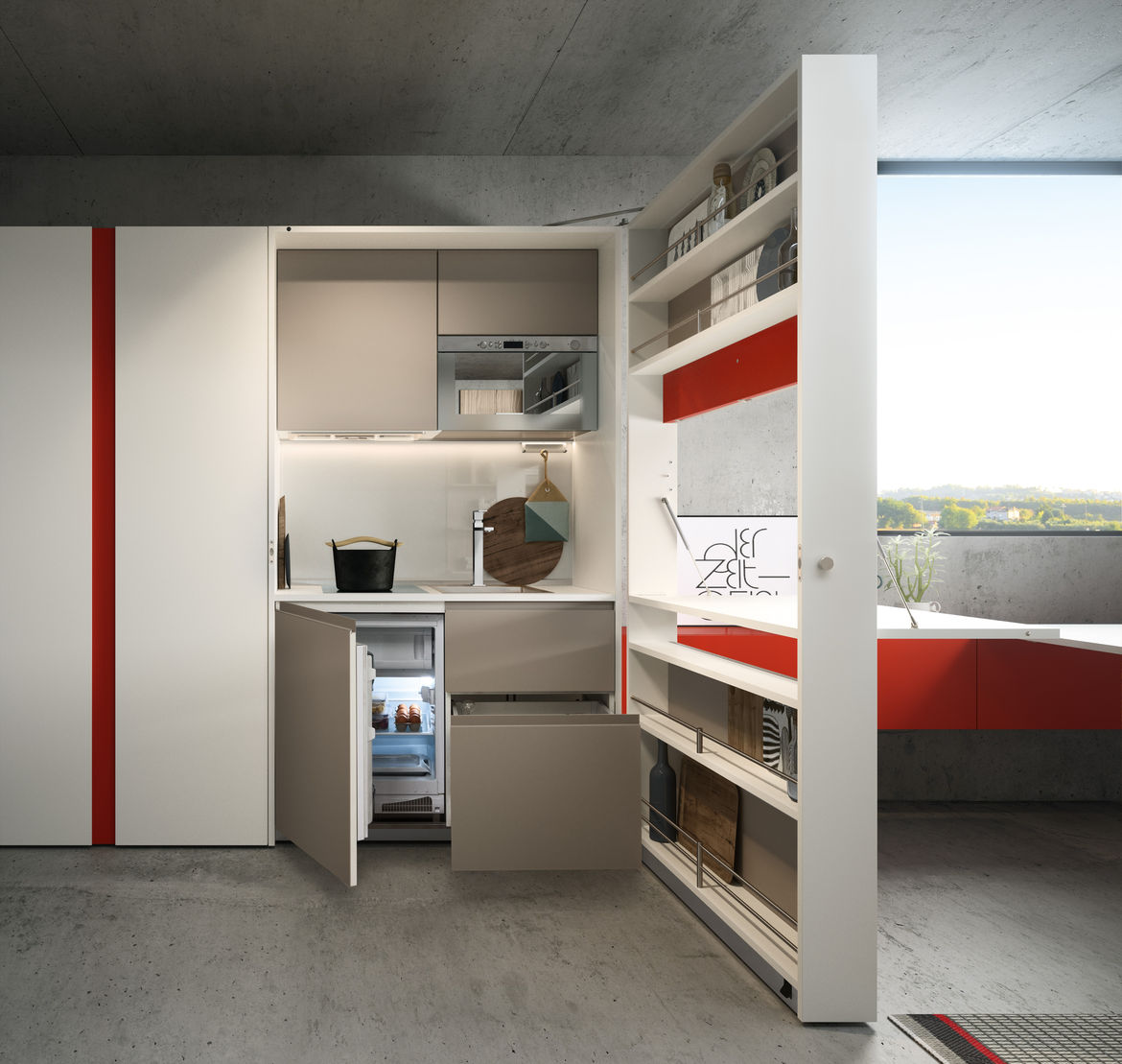 Kitchen Box by Clei for small-space living