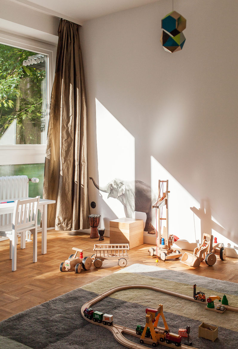 Kid's room with Colour Carpet by Scholten & Baijings for HAY.