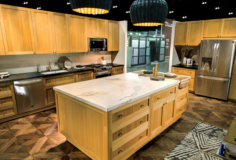 LG Studio appliances, designed with Nate Berkus, at the LG Re-Imagination Pavilion of Dwell on Design Los Angeles 2015.