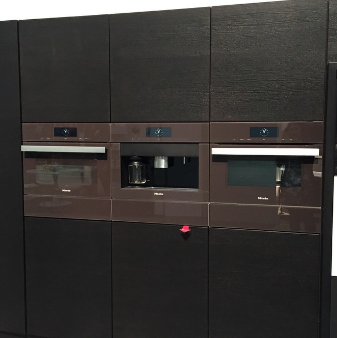 Brown appliances by Miele at Dwell on Design