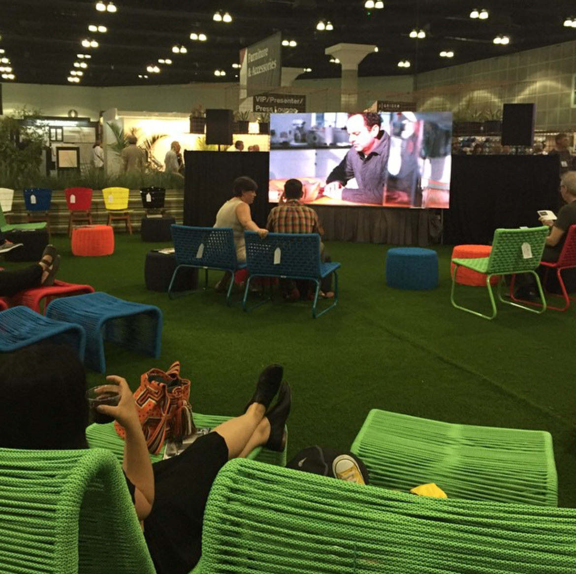LALO Outdoor Cinema at Dwell on Design