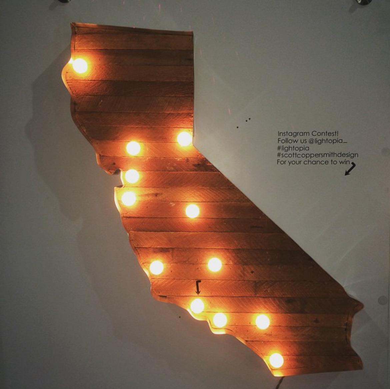 Lightopia California lamp at Dwell on Design