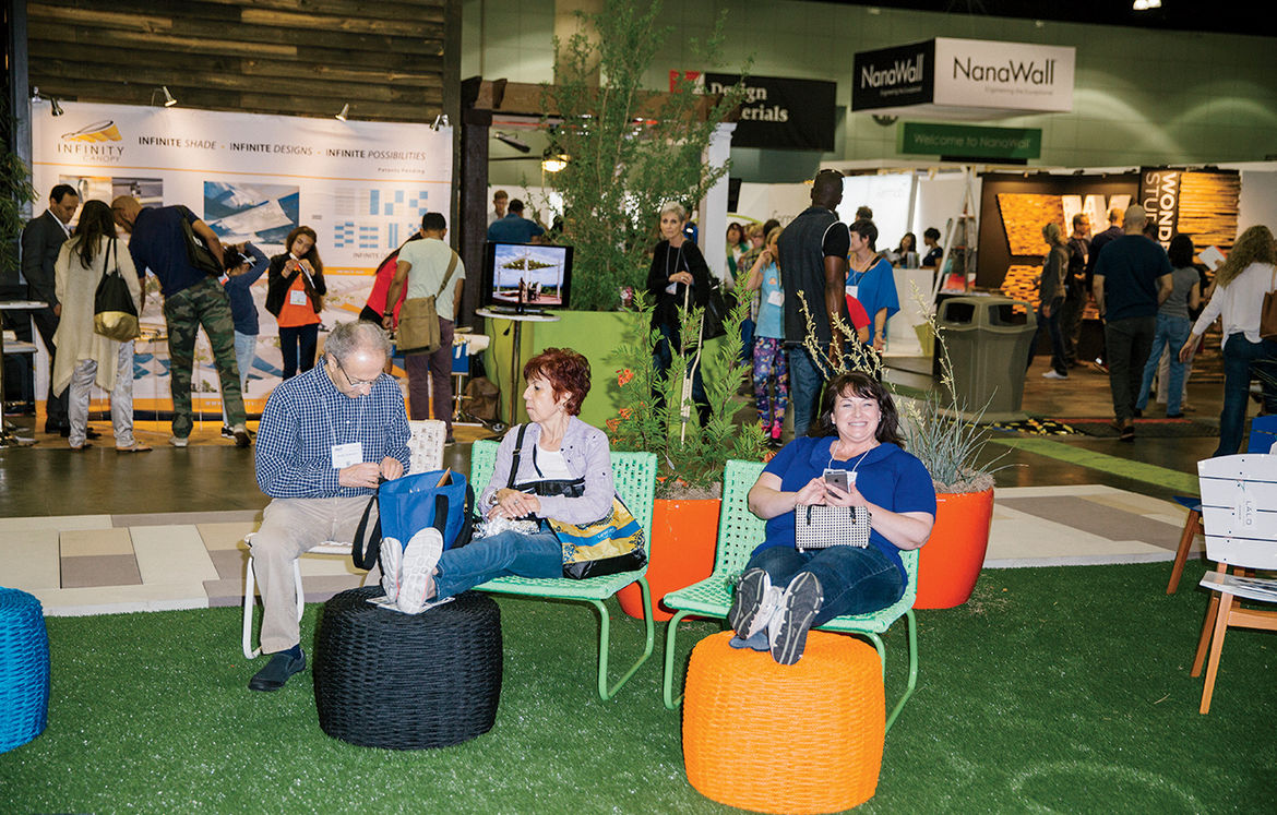 LALO furnishings at 2015 Dwell on Design LA's Outdoor area.