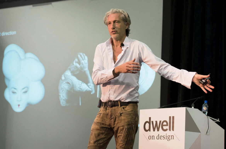 Designer and Moooi cofounder Marcel Wanders, keynote speaker at 2015 Dwell on Design LA.