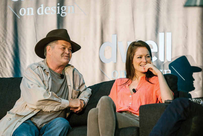 Furniture designers Mickey Dolenz and daughter Georgia at 2015 Dwell on Design LA.