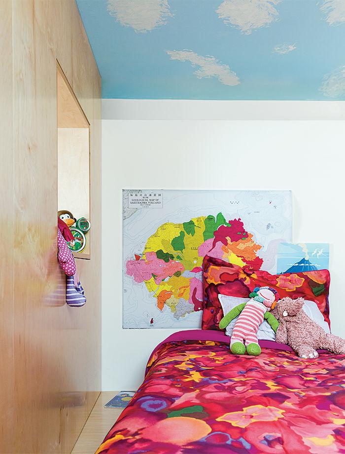 Family Matters kid's room bedding.