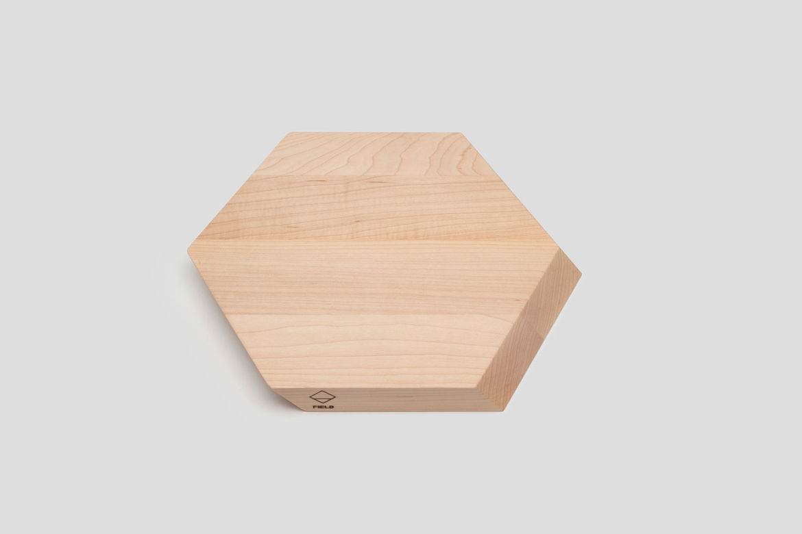 Hex Cutting Board by Jonah Takagi for Field